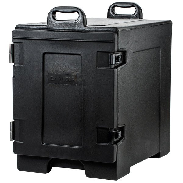 "Carlisle PC300N03 Cateraide 16 3/4"" x 24"" x 25"" Black Food Pan Carrier"