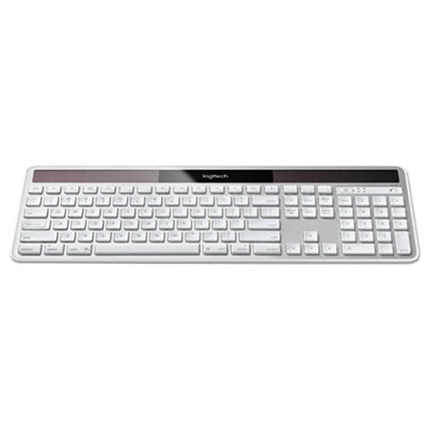 logitech 920003472 silver full size wireless solar mac keyboard. Black Bedroom Furniture Sets. Home Design Ideas