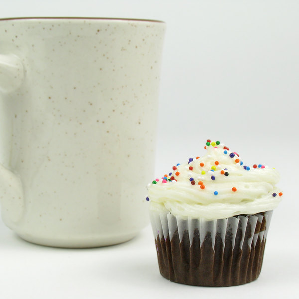 """White Fluted Baking Cup 1 1/2"""" x 1"""" - 10000/Case"""