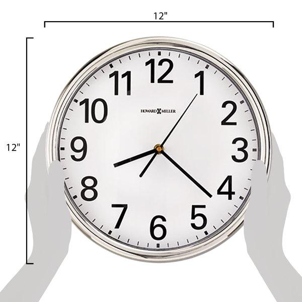 Hamilton wall clock Feature Howard Miller 625561 Hamilton 12 Webstaurantstore Howard Miller 625561 Hamilton 12
