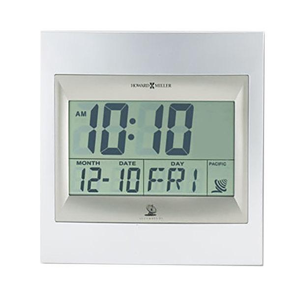 Howard Miller 625236 TechTime II Radio-Controlled LCD Alarm Clock Main Image 1