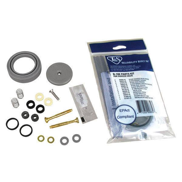 T&S B-10K Repair Kit For B-0107 Pre-Rinse Spray Valve