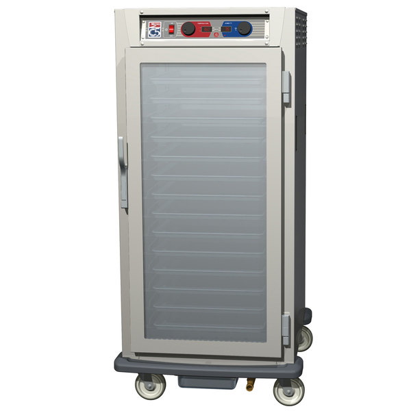 Metro C597-SFC-U C5 9 Series Reach-In Heated Holding and Proofing Cabinet - Clear Door Main Image 1