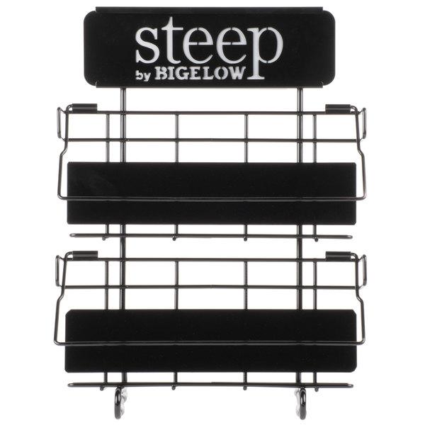 Steep by Bigelow 4 Over 4 Tea Rack / Merchandiser