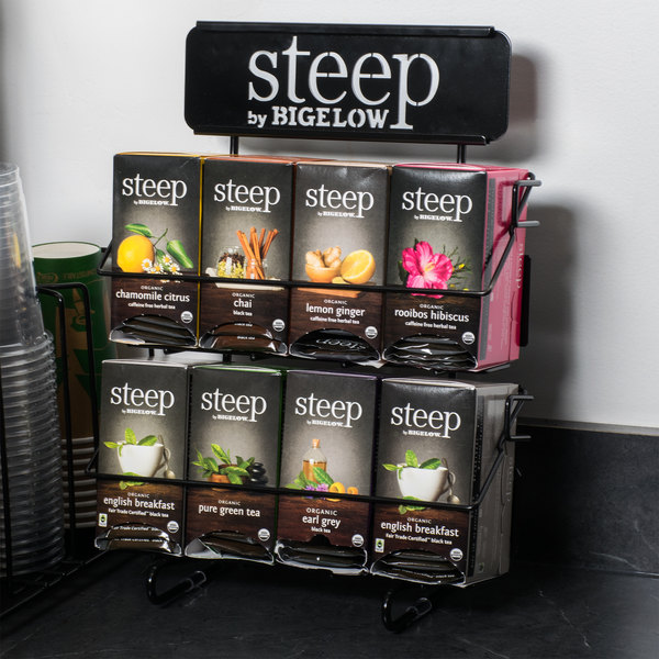 Steep by Bigelow 4 Over 4 Tea Rack / Merchandiser Main Image 3