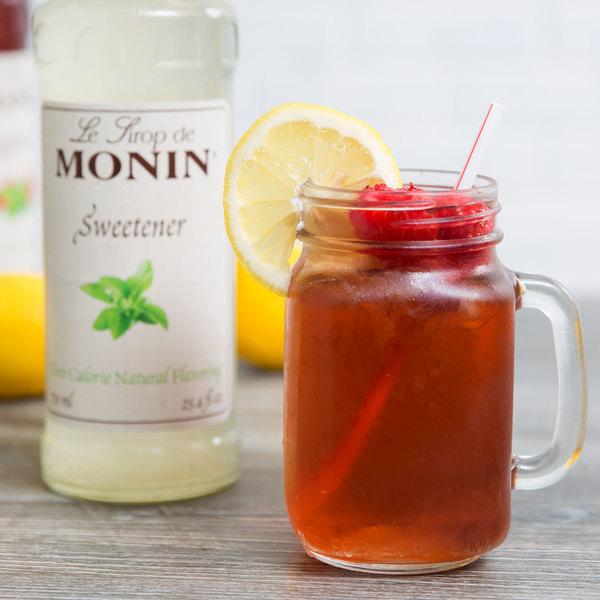 Monin 750 mL Zero Calorie Natural Sweetener Flavoring Syrup