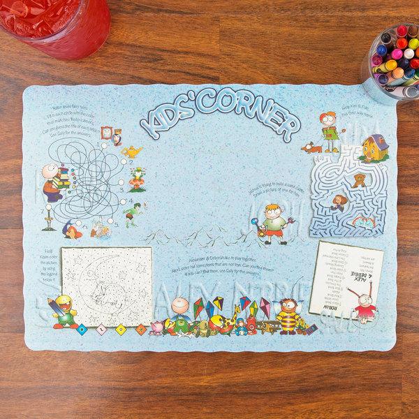 Kids Corner Interactive Placemat - 1000/Case