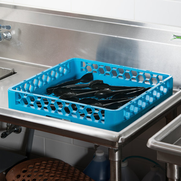 Carlisle RB14 Full Size Blue Open / Bowl Rack