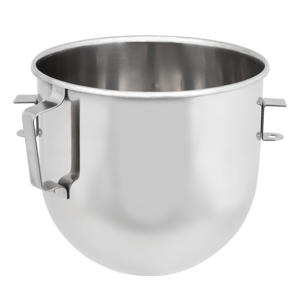 Globe XXBOWL-08 8 Qt. Stainless Steel Mixing Bowl for SP8 Mixer Main Image 1