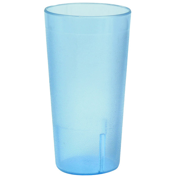 3ffc72618a5b 20 oz. Blue Pebbled Plastic Tumbler - 12/Pack. Main Picture