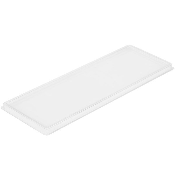 """Cal-Mil 1397-LID Cater Choice Lid for Melamine Boxes - 7"""" x 20"""""""