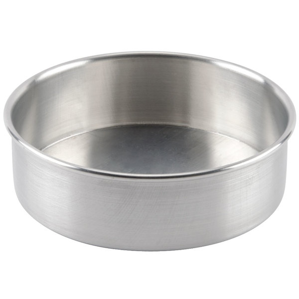 8 X 2 Aluminum Removable Bottom Cake Pan
