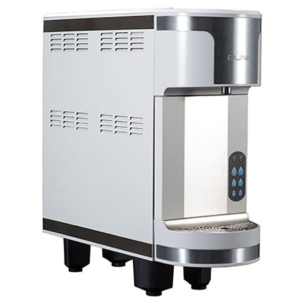 Bunn 45800.0003 Refresh White Countertop Water Dispenser with Portion Control Dispensing Main Image 1