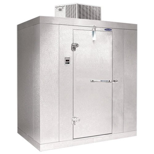 "Left Hinged Door Nor-Lake KODB87812-C Kold Locker 8' x 12' x 8' 7"" Outdoor Walk-In Cooler"