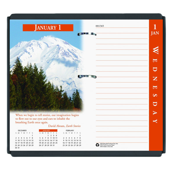 2020 Desk Calendar.House Of Doolittle 417 3 1 2 X 6 Earthscapes 2020 Desk Calendar Refill