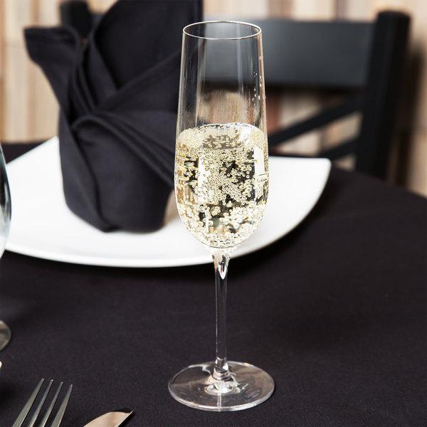 Stolzle 1400007T 7.5 oz. Grandezza Champagne Flute - 6/Pack