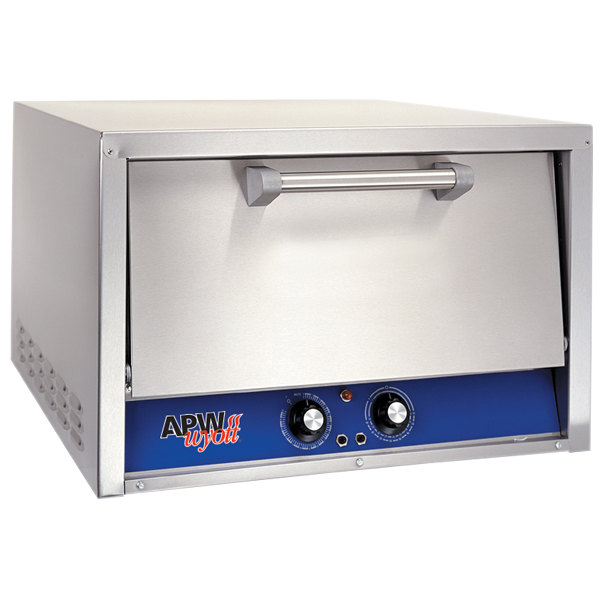 APW Wyott CDO-18 Electric Two Deck Countertop Pizza / Deck Oven - 208/240V Main Image 1