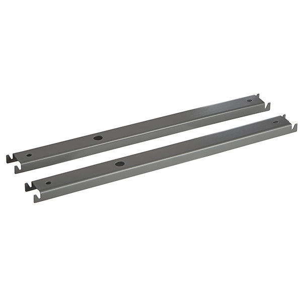 """HON 919492 15 1/4"""" Double Cross Rails for 42"""" Gray Lateral Files - 2/Pack Main Image 1"""