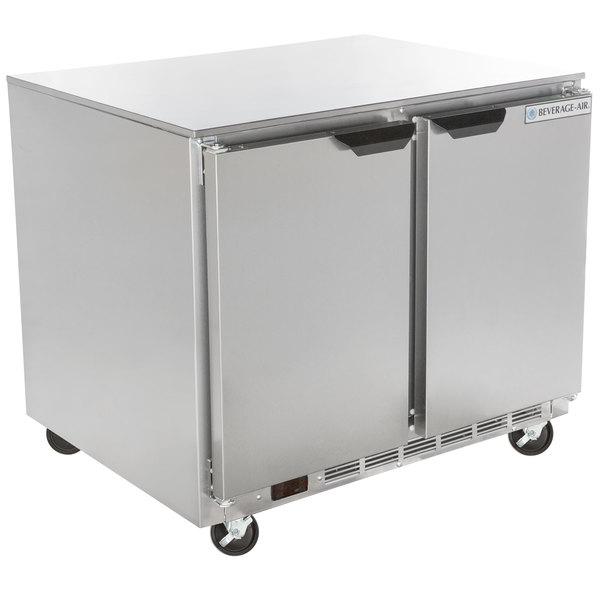 "Beverage-Air UCR36AHC 36"" Undercounter Refrigerator Main Image 1"