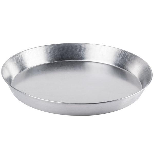 "14"" x 2"" Tapered Aluminum Deep Dish Pizza Pan Main Image 1"