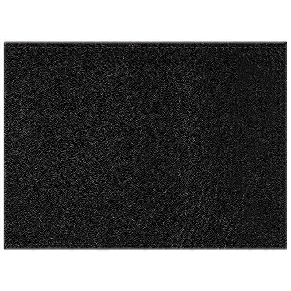 H Risch Inc 11 Quot X 15 Quot Black Hardboard Faux Leather