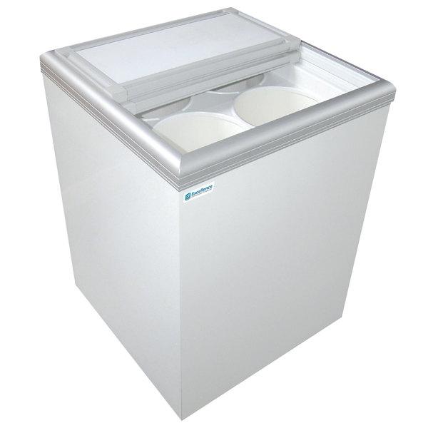 Excellence ISL-5D Ice Cream Flat Top Flat Lid Display Freezer - 6 cu. ft. Main Image 1