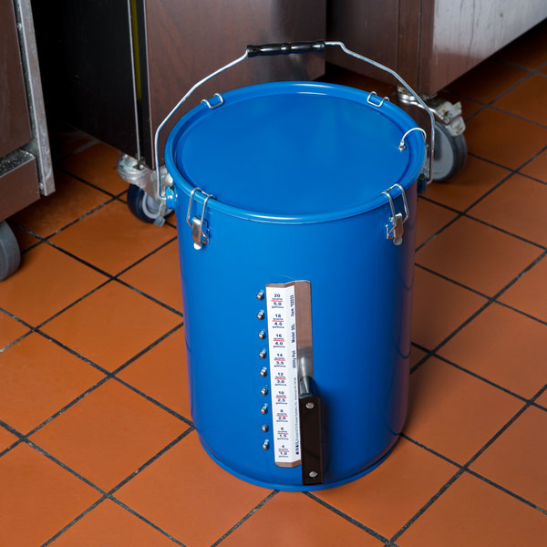 MirOil 30LG 6 Gallon Utility Pail with Gauge