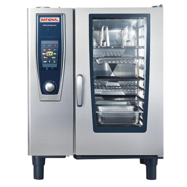 Rational SelfCookingCenter 5 Senses Model 101 B118106.12 Single Electric Combi Oven - 208/240V, 3 Phase, 19 kW Main Image 1