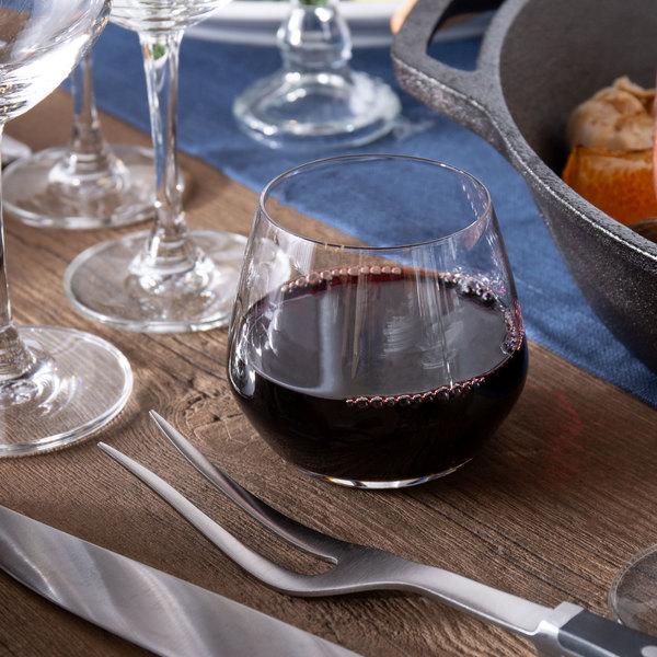 Acopa 12 oz. Radiance Stemless Wine Glass - 12/Case