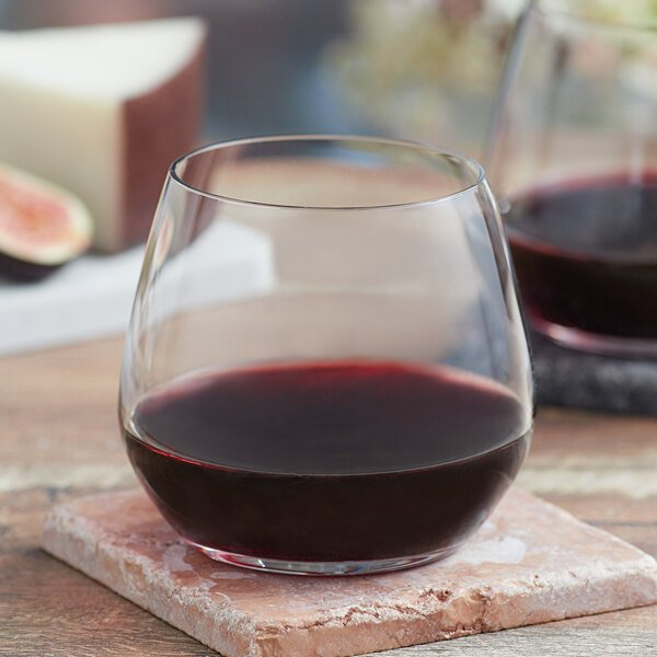 Acopa Radiance 12 oz. Stemless Wine Glass - 12/Case Main Image 2