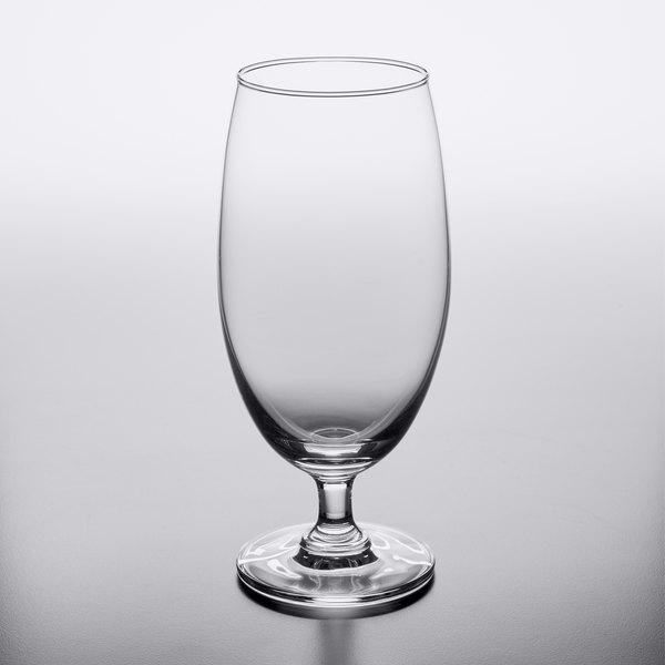 Acopa 15 oz. Stemmed Pilsner Glass - 12/Case