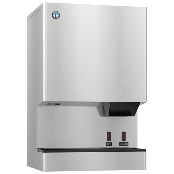 Hoshizaki DCM-500BWH-OS Opti-Serve Countertop Ice Maker and Water Dispenser - 40 lb. Storage Water Cooled Main Image 1