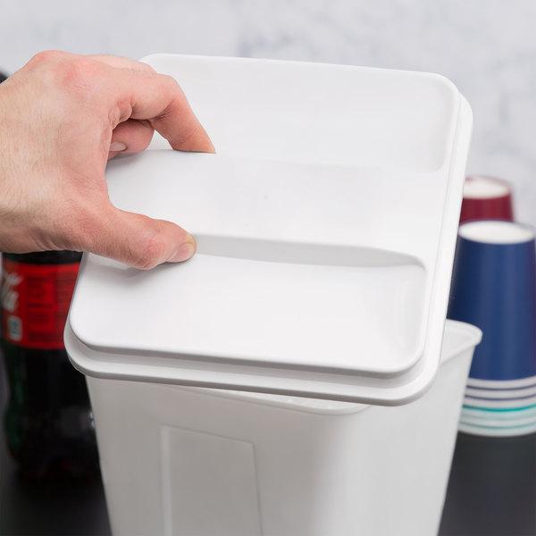 3 Qt. Plastic Ice Bucket Lid - 72/Case