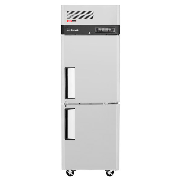 Turbo Air M3RF19-2-N 25 inch M3 Series One Section Dual Temperature Reach-In Refrigerator / Freezer
