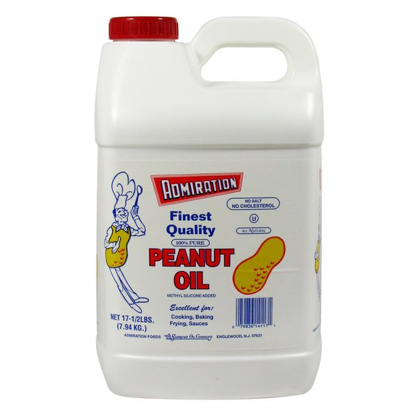 Container of Peanut Oil