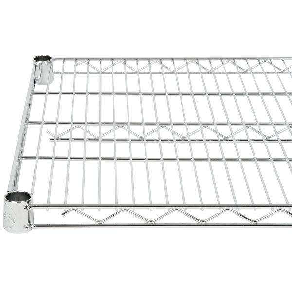 "Regency 21"" x 36"" NSF Chrome Wire Shelf"
