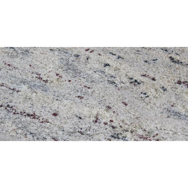 "Art Marble Furniture G208 30"" x 60"" Kashmir White Granite Tabletop"