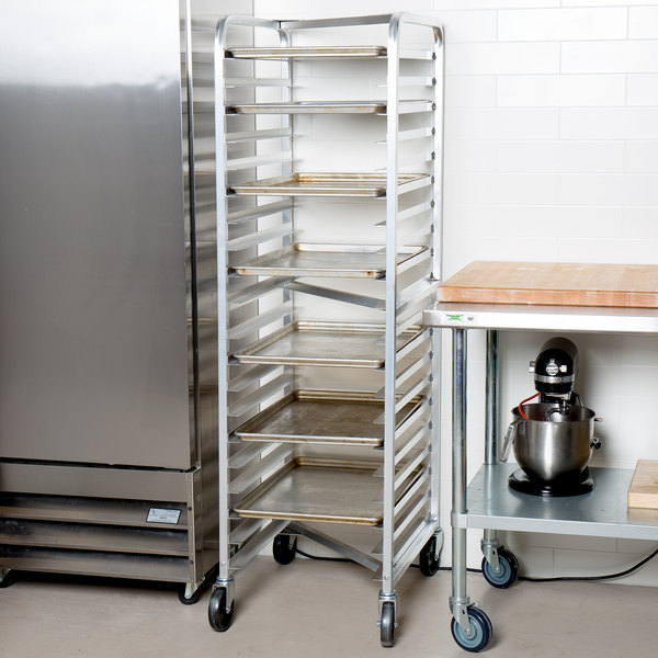 Channel 401AN 20 Pan End Load Nesting Bun / Sheet Pan Rack - Assembled Main Image 4