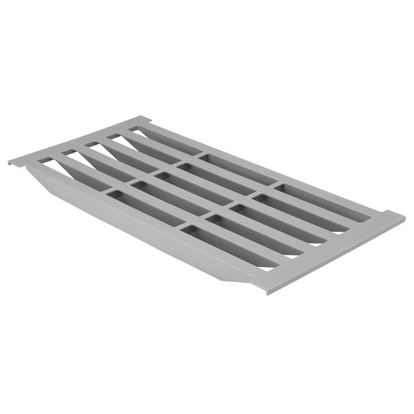 "Cambro CBSP1811V151 18"" x 11"" Vented Shelf Plate for Camshelving® Basics Plus Series Main Image 1"