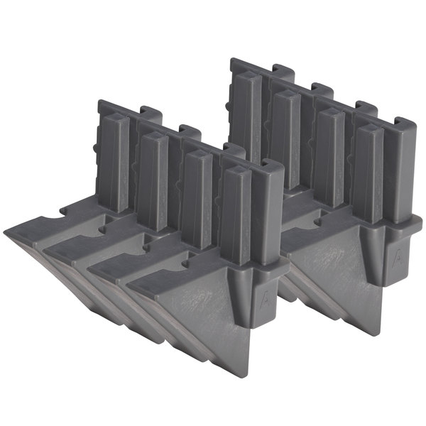 Cambro EMTD8580 Camshelving® Elements Mobile Dovetail - 8/Pack Main Image 1