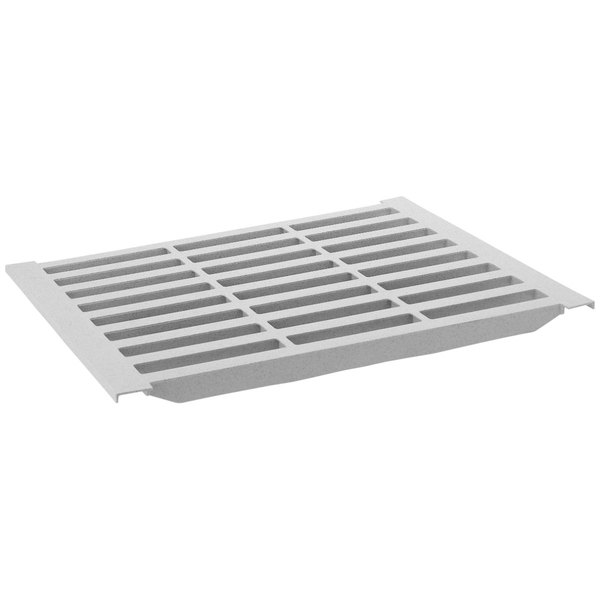 """Cambro CS1418V480 14"""" x 18"""" Vented Shelf Plate for Camshelving® Premium and Elements Series"""
