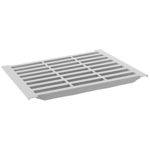 "Cambro CS216V480 21"" x 6"" Vented Shelf Plate for Camshelving® Premium and Elements Series"
