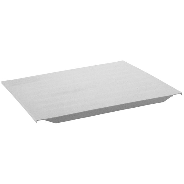 "Cambro CS216S480 21"" x 6"" Solid Shelf Plate for Camshelving® Premium and Elements Series"