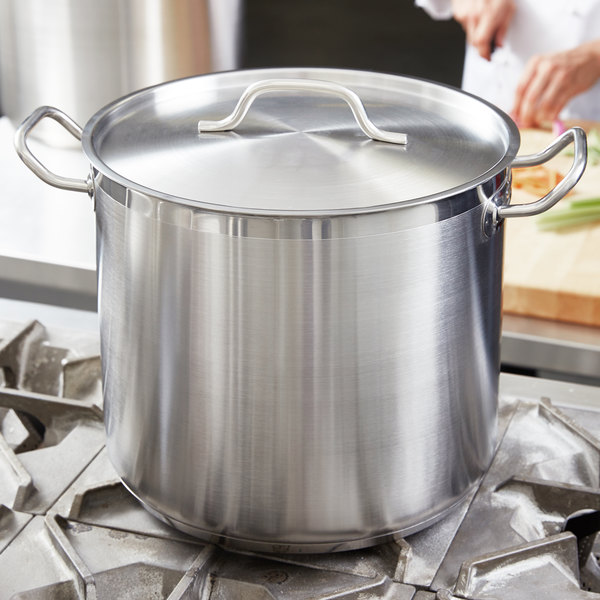Vigor 12 3 8 Quot Stainless Steel Replacement Lid For 5 Qt