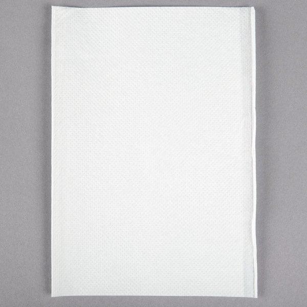 OneUp Nexgen by Choice White Wide Interfold 6 1/2 inch x 8 1/2 inch Dispenser Napkin  - 6000/Case