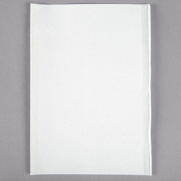 OneUp Nexgen by Choice White Wide Interfold 6 1/2 inch x 8 1/2 inch Dispenser Napkin  - 500/Pack