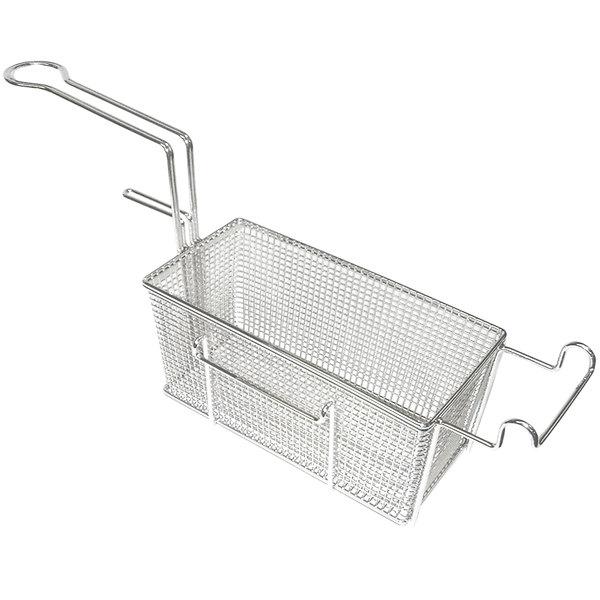 "APW Wyott 3101226 11 1/4"" x 7 1/4"" x 6 1/4"" Right Side Full Size Fryer Basket"