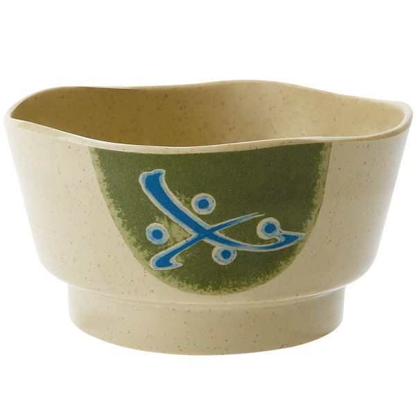 GET 150-1-TD Japanese Traditional 8 oz. Wavy Edge Bowl - 12/Case