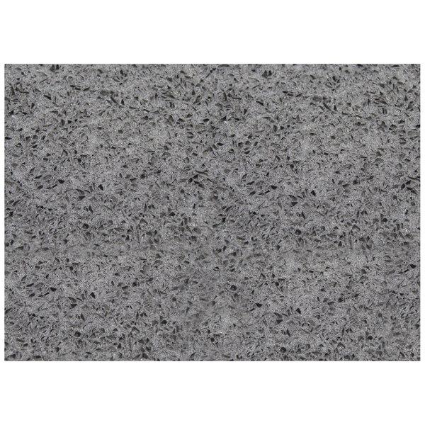 """Art Marble Furniture Q405 30"""" x 42"""" Storm Gray Quartz Tabletop"""