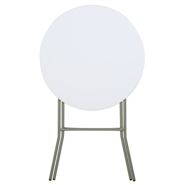 Plastic High Top Table 32 Quot Round Plastic Folding Event Table